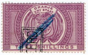 (I.B) Orange Free State Revenue : Duty Stamp 2/-