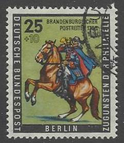 Berlin #9NB18 VF Used Brandenburg Postrider (U5)