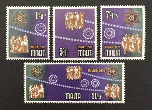 Malta 1978 #B30-3, Christmas, MNH.