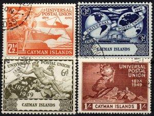 Cayman Islands #118-21  F-VF Used  CV $7.25 (X1275)