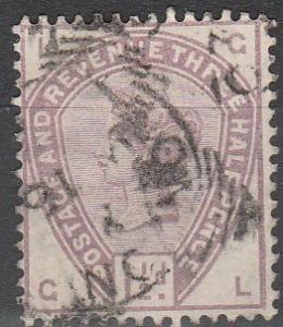 Great Britain #99 F-VF Used CV $42.50  (30)