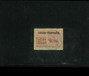 Madagascar Parcel Post Stamp Used F-VF. Cat.100.00 Euros ($120.00). Net 60.00