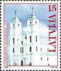 Latvia 1999 #492 MNH. Church