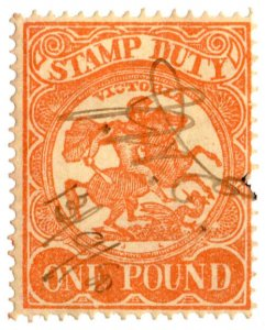 (I.B) Australia - Victoria Revenue : Stamp Duty £1