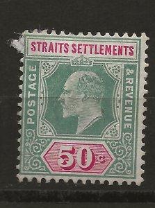 Straits Settlements 101 SG 118 MH F/VF 1902 SCV $24.00 (jr)