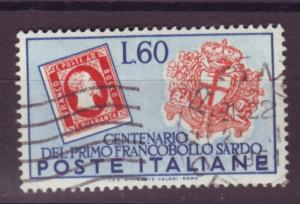 J17174 JLstamps 1951 italy hv of set used #589 stamps