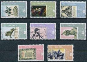 [M02] Albania / 1968, Skanderbeg, MNH, Michel No: 1239/46 (12€)