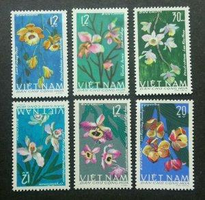 Vietnam Orchids 1966 Flower Flora Plant (stamp) MNH