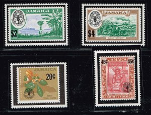 JAMAICA STAMP MNH STAMPS IN PROTECTOR LOT  #1