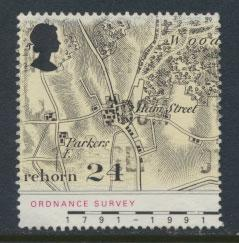 Great Britain SG 1578    Used  - Ordnance Survey