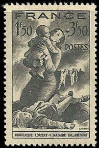 France - B158 - MNH - (Penciled Back) - SCV-0.50