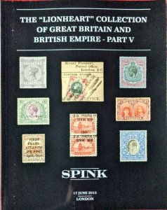 Auction Catalogue Lionheart GREAT BRITAIN and BRITISH EMPIRE