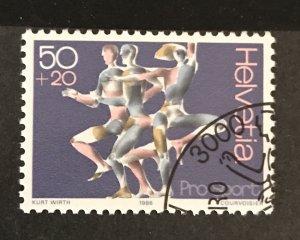 Switzerland 1986 #B522, Used, CV $.25