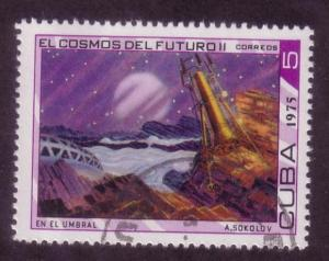 Cuba Sc. # 1967 CTO Space