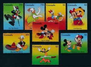 [22556] Grenada 1996 Disney Characters and dance MNH