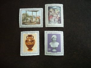 Stamps - Cuba - Scott# 817 -820 - Mint Hinged Set of 4 Stamps