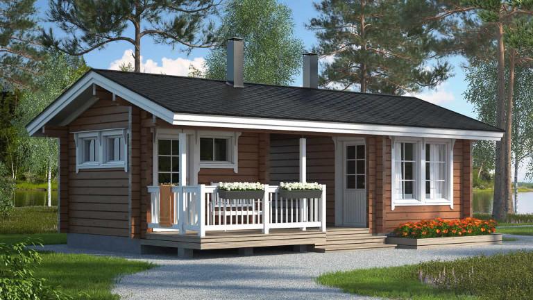 Sauna cabin Suomela 22