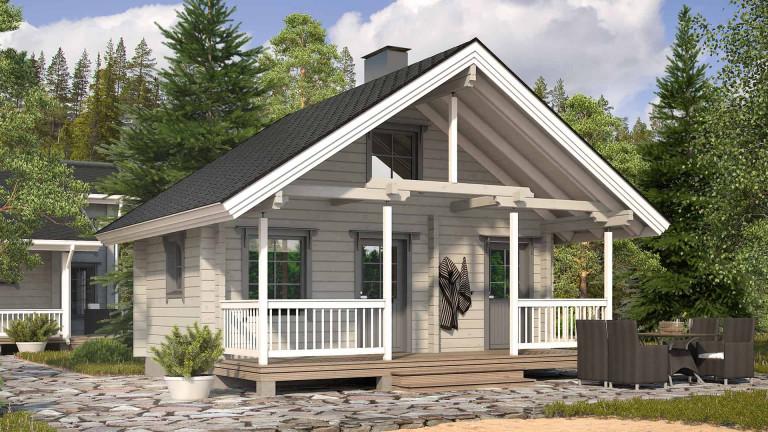 Sauna cabin Luokki 25P
