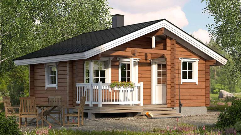 Sauna cabin Visa 25