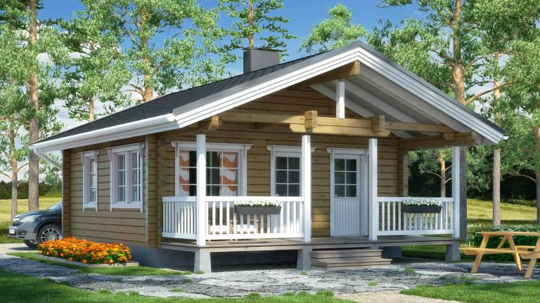 Log cabin Hukkanen 45