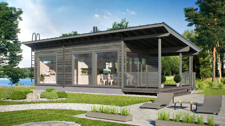 Log Cabin Piilo 50