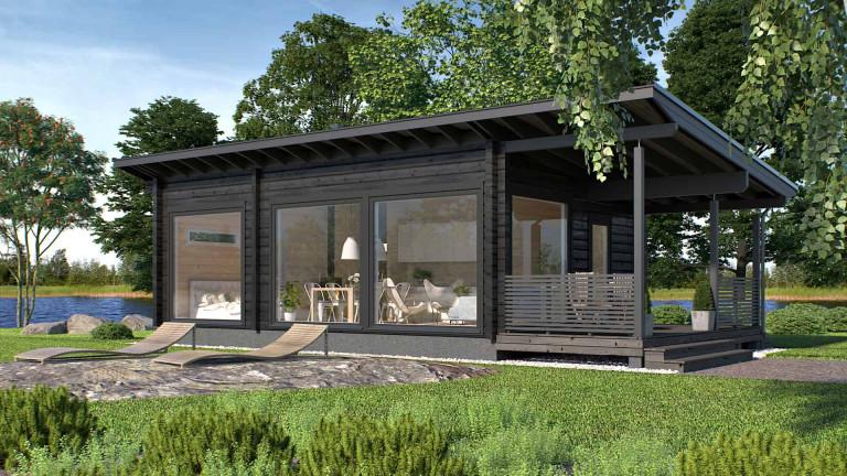 Log cabin Piste 50