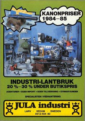 JULA Industri 1984-1985