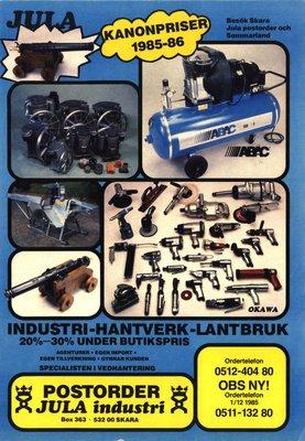 JULA Katalog 1985-86
