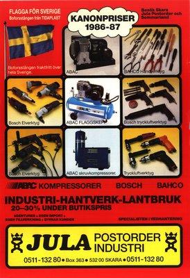 JULA Katalog 1986-87