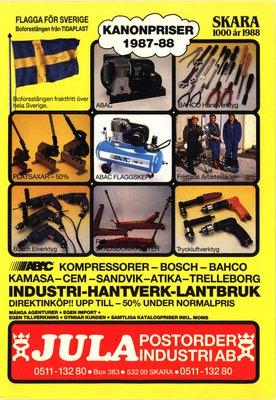 JULA Katalog 1987-88