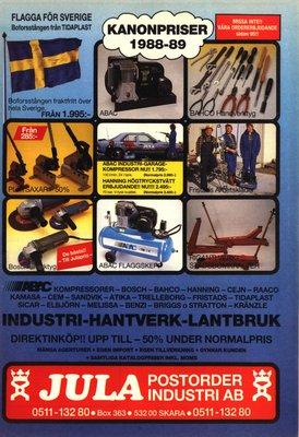 JULA Katalog 1988-89