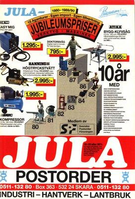 JULA Katalog 1989-90