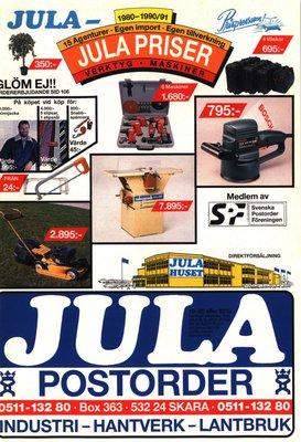 JULA Katalog 1990-91