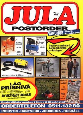 JULA Katalog 1993_Varen