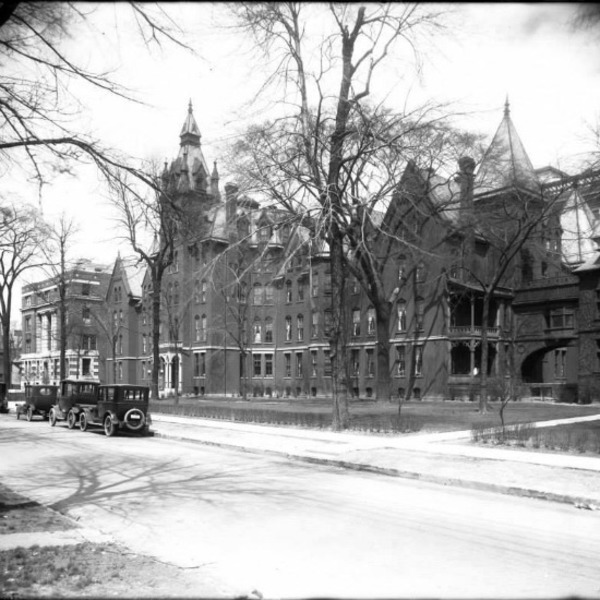 Harper Hospital (old) — Historic Detroit