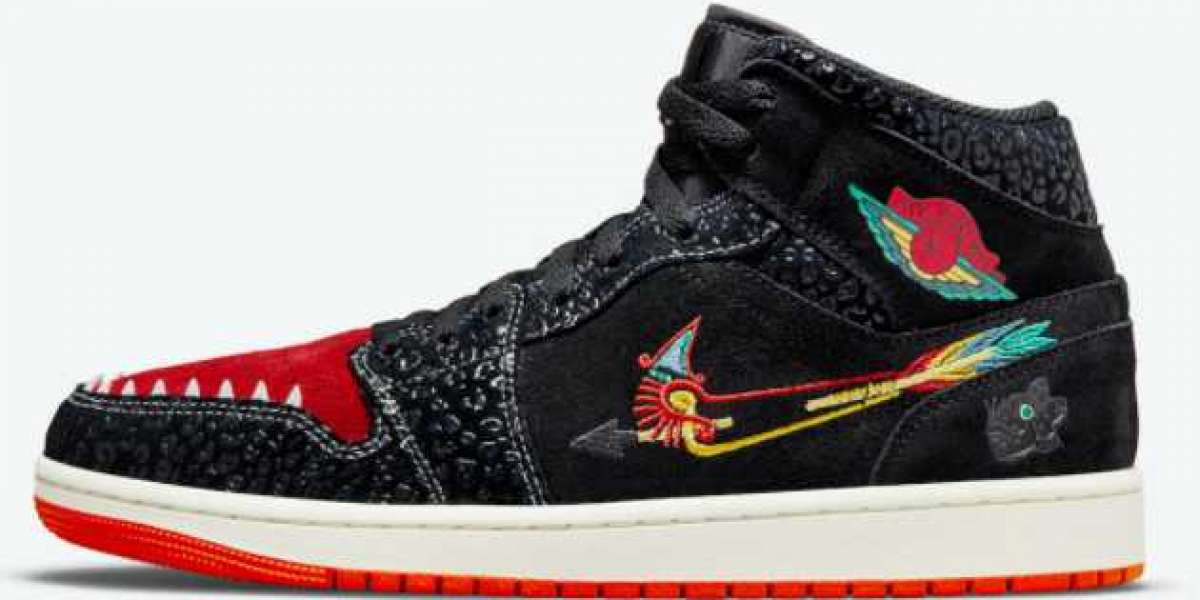 """Brand New Air Jordan 1 Mid """"Siempre Familia"""" to released on October 29th"""