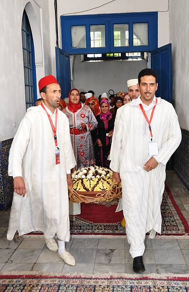 Couscous Offred During A Religious Celebration