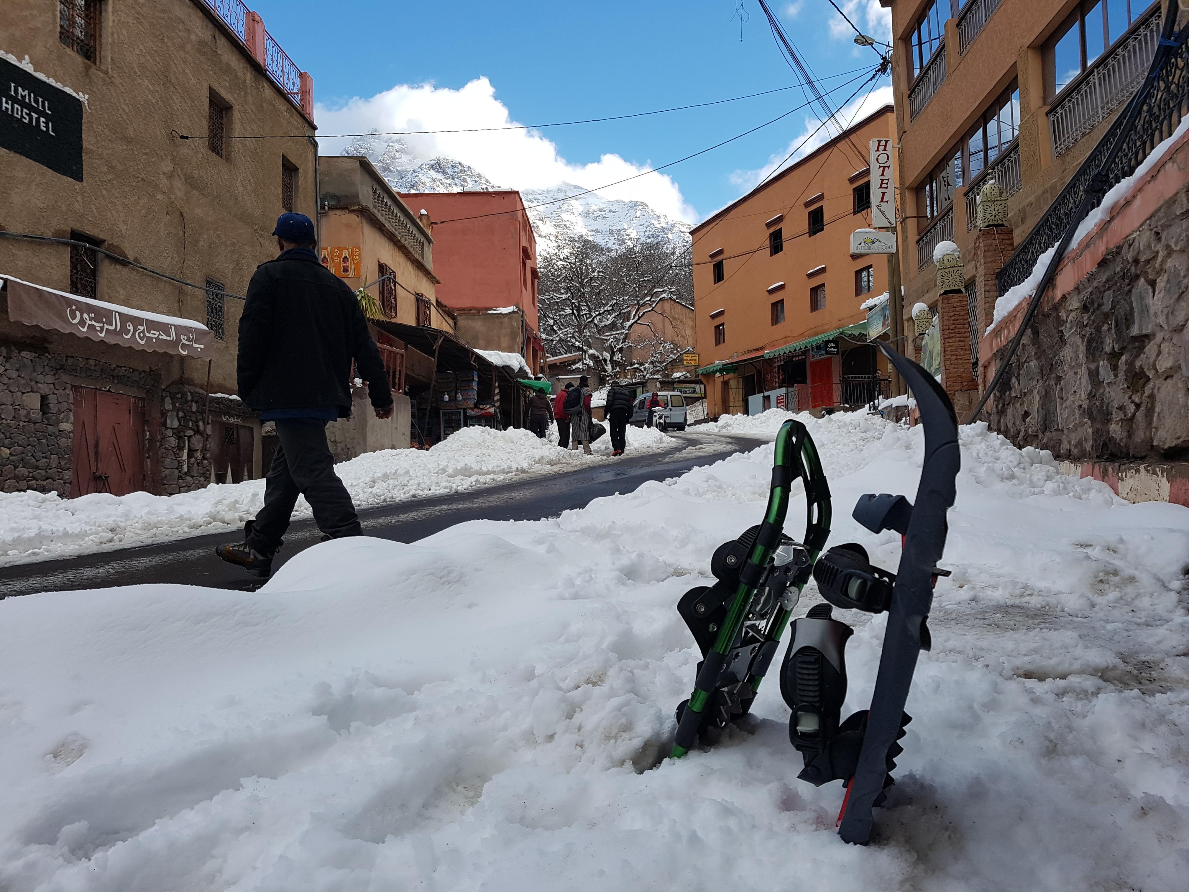 Imlil under snow