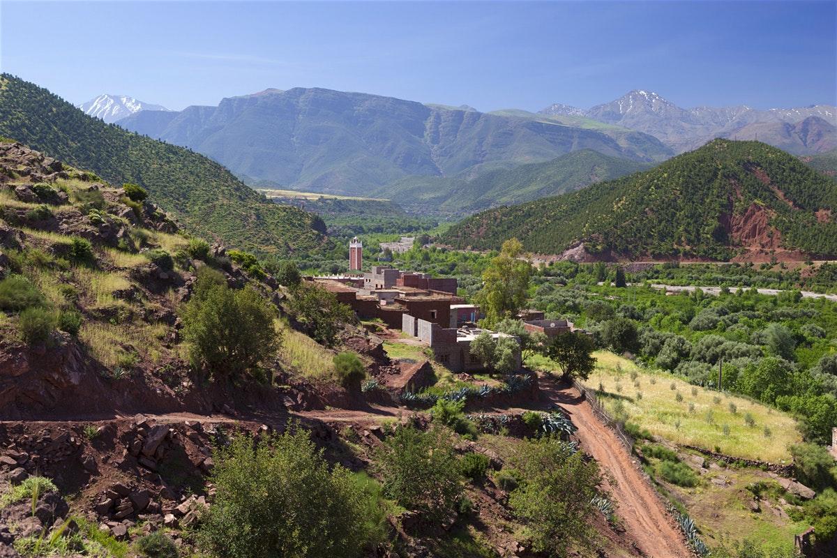 The Kik Plateau In Marrakech, Morocco
