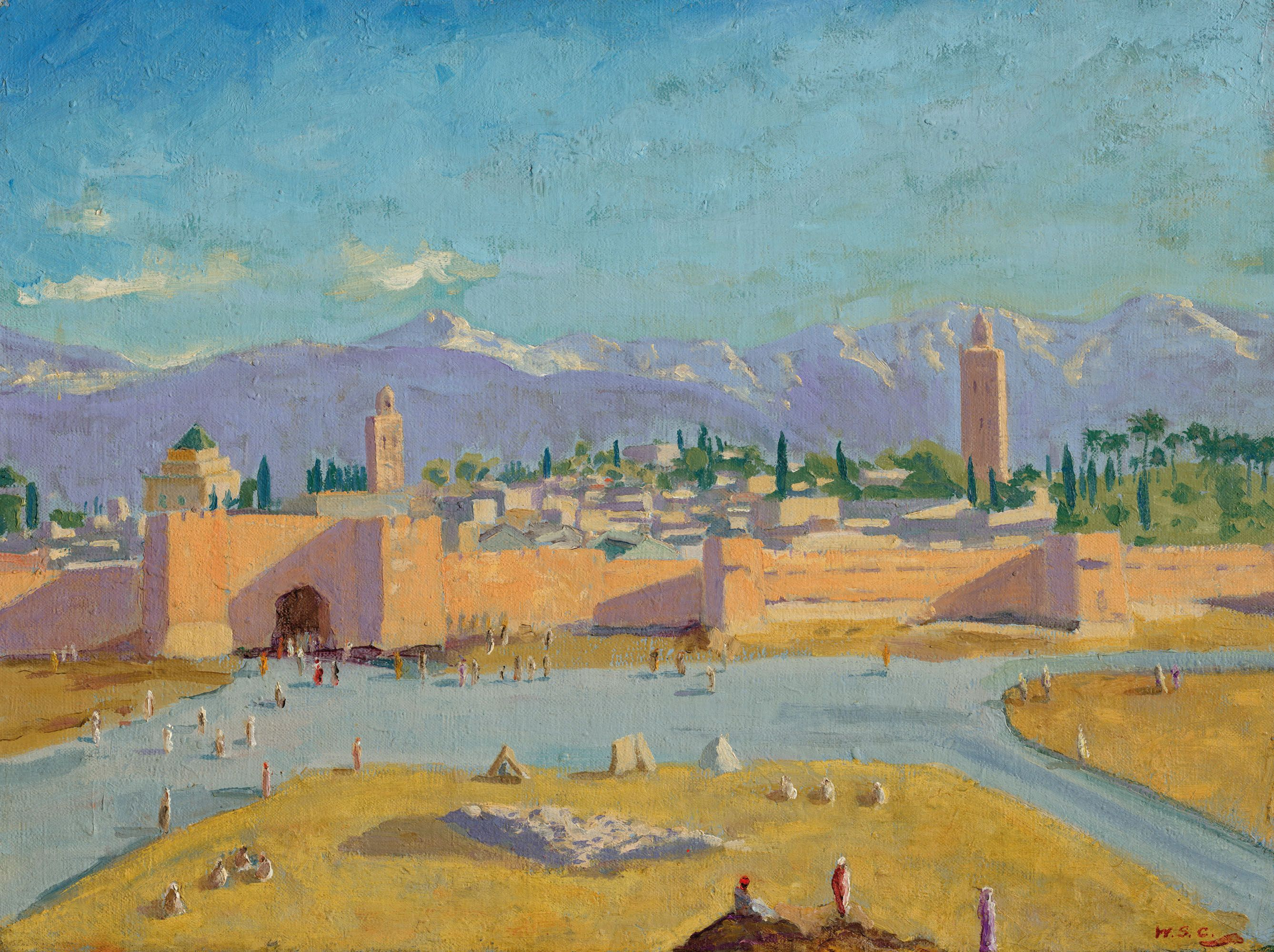 The Koutoubia Tower By Winston Churchill