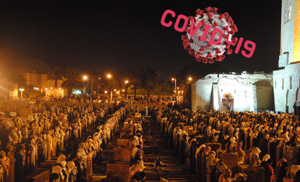 Koutoubia Mosque In Marrakech 900 Years Of Tarawih Stopped By Corona