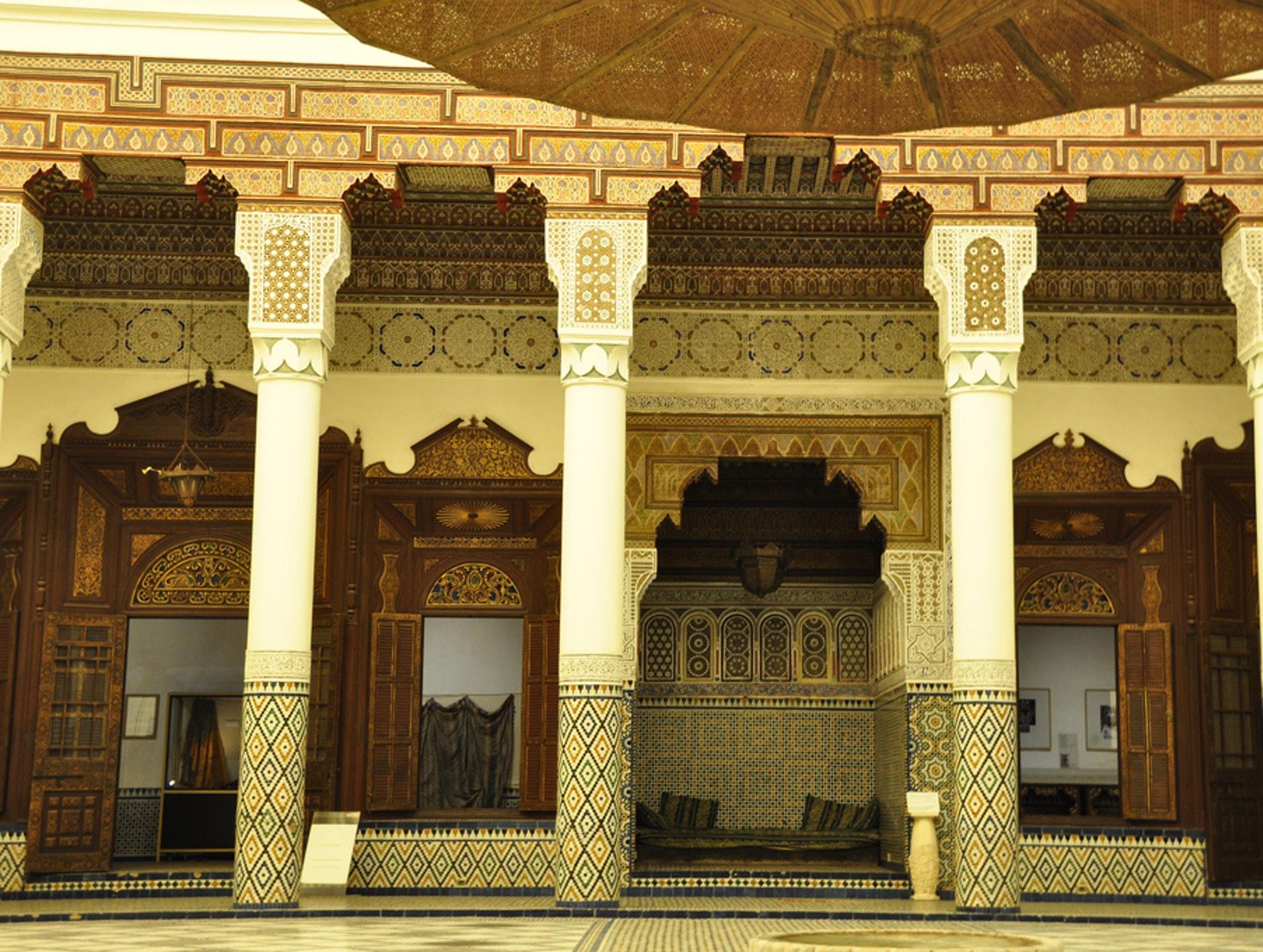 Dar El Menebhi Courtyard