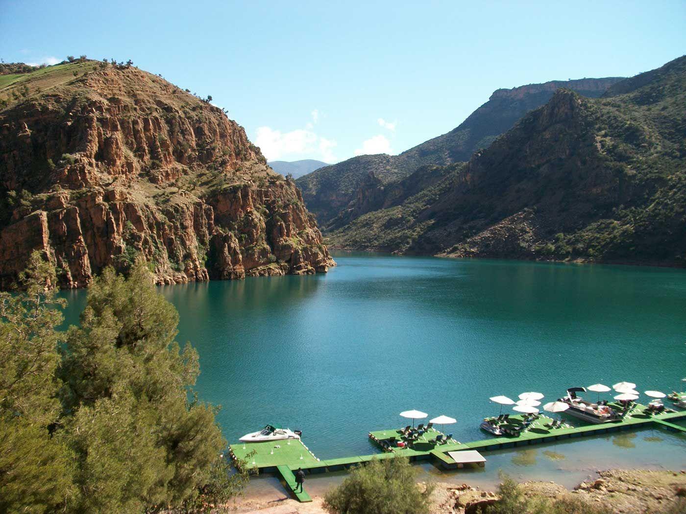 Bin El Ouidane Lake