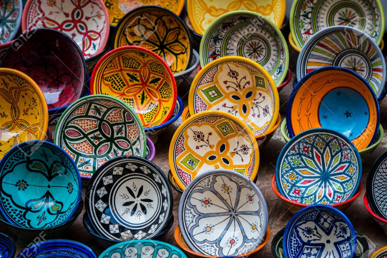 Moroccan Pottery, The Elegant Art (Types and Know How)