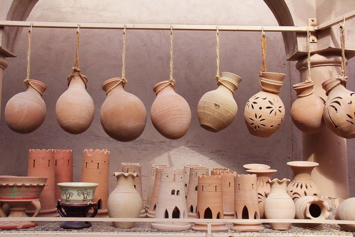 Rustic Berber Pottery