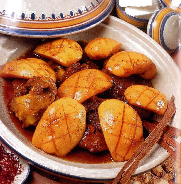 Tagine with quince