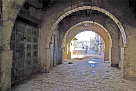 The Jewish Neighborhood In Essaouira