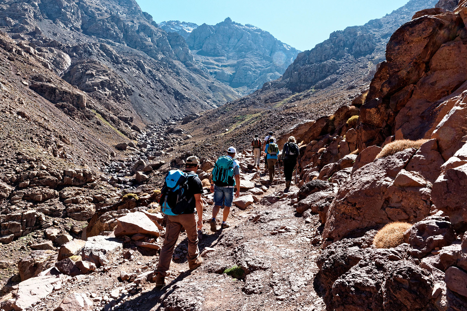Road To Toubkal Summit