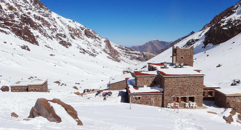 Toubkal Summit Base Camp