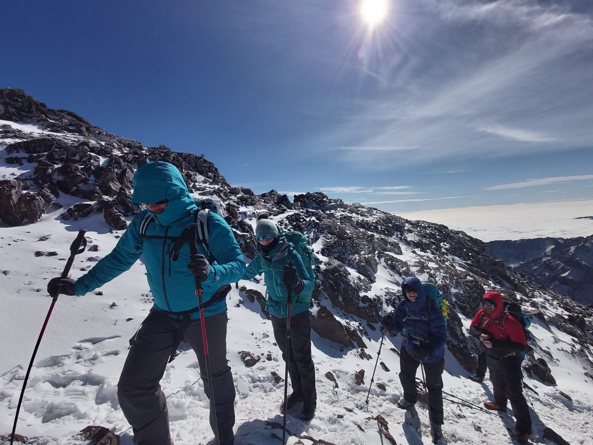 Climbing Toubkal With A Guider